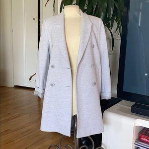 🔥 Zara oversized boyfriend blazer coat NWOT